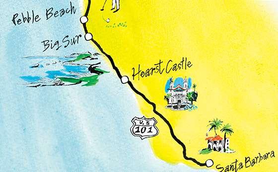 イマどき西海岸の遊び方はサーフでターフなクルマ旅