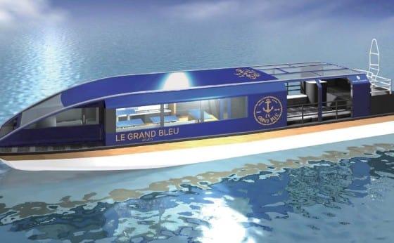ホテル専用クルーズ船「ル・グラン・ブルー」運航スタート