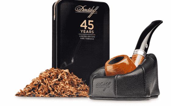 「ダビドフ」がパイプタバコ発売45周年を記念した限定商品を発売