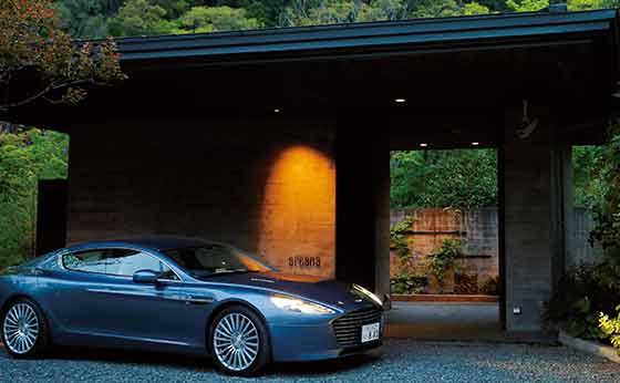 Aston Martin Rapide S×arcana  izu