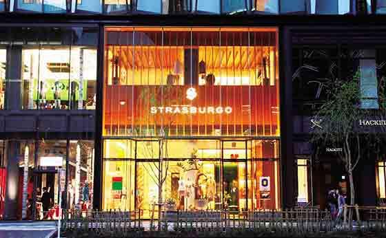 「ストラスブルゴ銀座店」が東急プラザにオープン