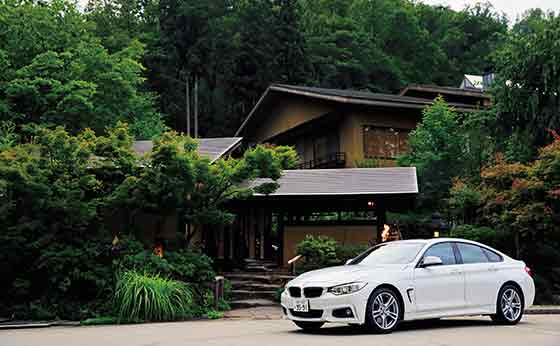 BMW 4 Series Gran Coupé×名月荘