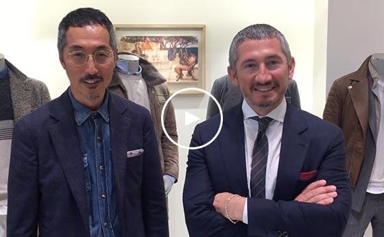 No.019 Brunello Cucinelli  Mr.Davide Miyagawa & Minoru Hikino