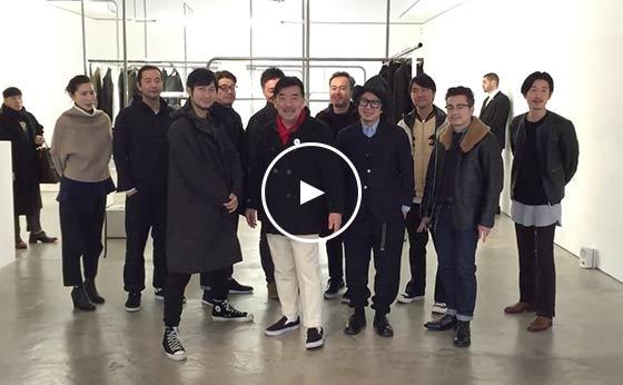 No.018 Beams  Mr.Keiji Endo with PR team