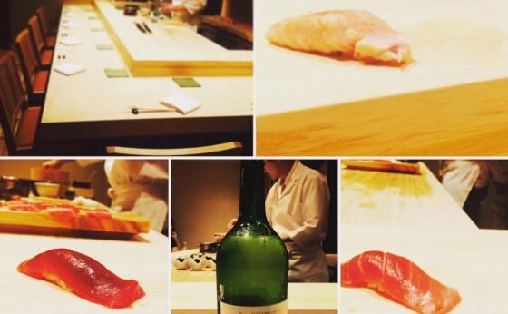 お鮨と日本酒でかんぱ~い!♥