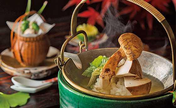 「ANAインターコンチネンタルホテル東京」日本料理『雲海』の秋の特別メニュー