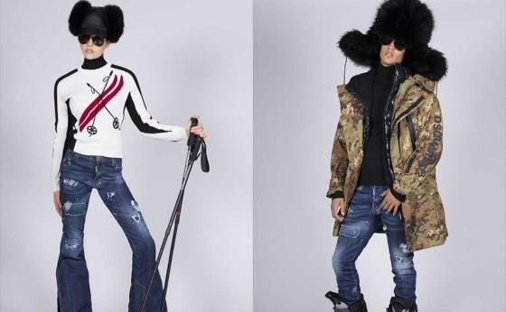 「ディースクエアード」が2017年『SKI』コレクションを発表