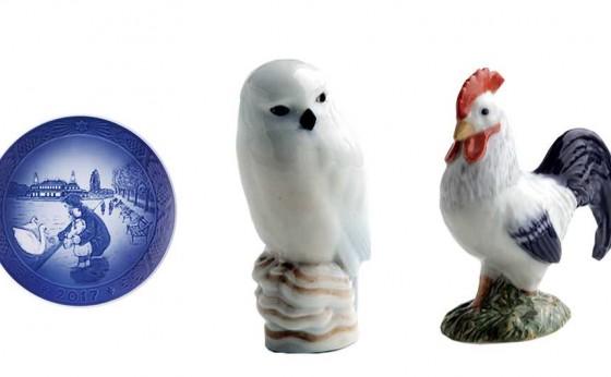 「ロイヤル コペンハーゲン」が2017度の『コレクタブル アイテム』を発表