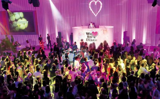 「グランド ハイアット 東京」の『We♥80's Disco』