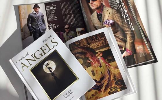 11月19日 伊勢丹新宿店メンズ館で「天使の写真」発売イベントを開催
