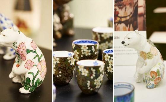 「リヤドロ」が「有田焼」とコラボし限定作品を販売