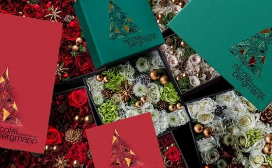 「ニコライ バーグマン フラワーズ & デザイン」のクリスマス限定ボックス