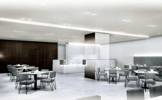 「バーニーズ ニューヨーク銀座本店」にカフェがオープン