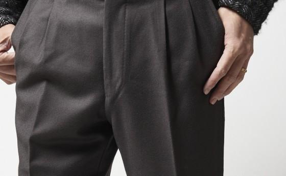 [買えるLEON]堀川正毅がいま一番履きたいパンツ