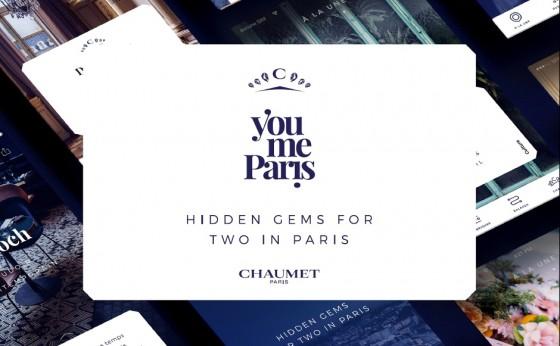 「ショーメ」がパリシティガイドアプリ『You me Paris』を発表