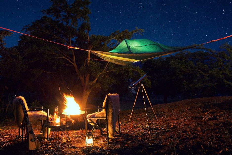 【星のや富士】空中テントオプション付き