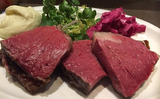 京橋のひと時:短角牛のサーロイン