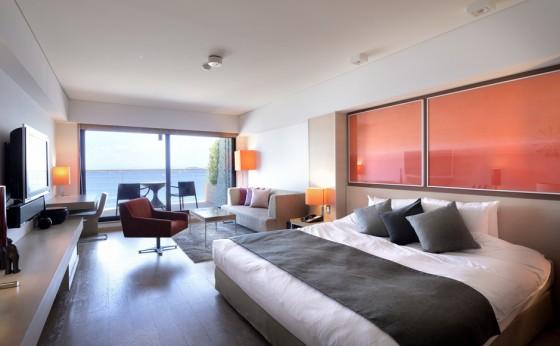 大人のファスティングは、海辺のデザインホテルで