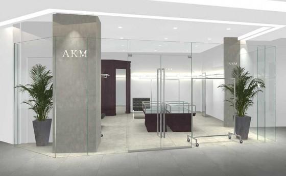 モテるオヤジブランド「AKM」が「GINZA SIX」に新店舗をオープン