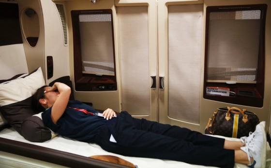 シンガポール航空の(ファーストの上の)スイートクラスに乗ってみた