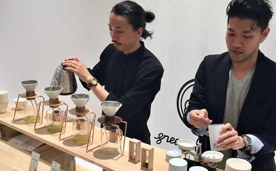 ハンドドリップで淹れた日本茶が楽しめる店『東京茶寮』に行ってみた