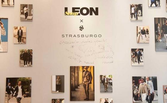 ストラスブルゴ銀座×Snap LEON のコラボイベント開催!