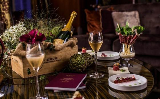 最高級のシャンパーニュを満喫する至極の晩餐会&ステイ/「クリュッグ スイート by シャングリ・ラ ホテル 東京」