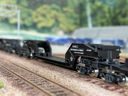 シキ1000 JR貨物タイプが入線です。TOMIX 93565 第59回全日本模型ホビーショー