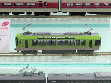 【KATO】10月25日メーカー出荷   叡山電鉄900系<青もみじきらら>(メープルグリーン)   #カトー