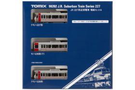 TOMIX 11月再生産予定 JR 227系近郊電車増結セットA 品番:98202