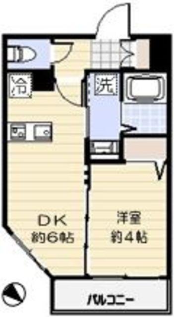 1DK(+S) 94000円