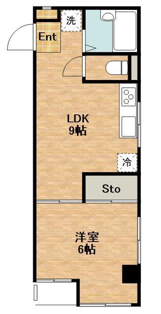 1LDK(+S) 105000円