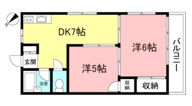1LDK(+S) 78000円