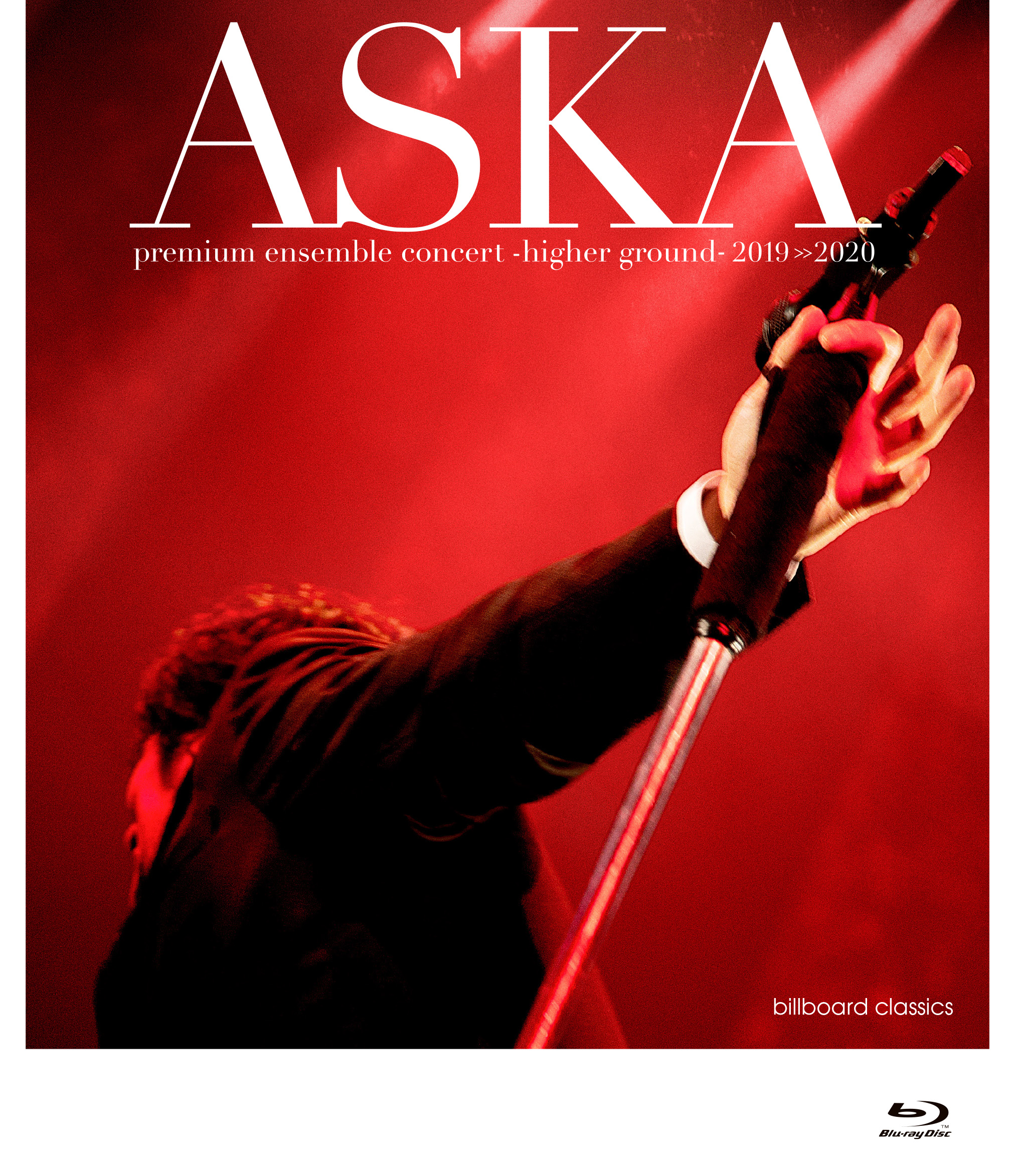 ASKA premium ensemble concert -higher ground- 2019>>2020【Blu-ray+LIVE CD】