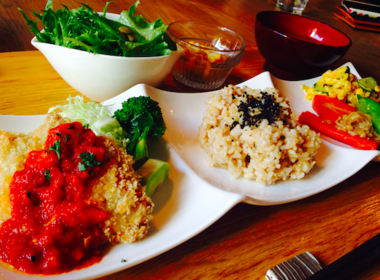 Organic Cafe Aoisora Nagarerukumoの写真