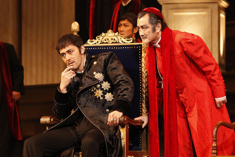 【写真・コメントあり】彩の国シェイクスピア・シリーズ第35弾 『ヘンリー八世』初日開幕!