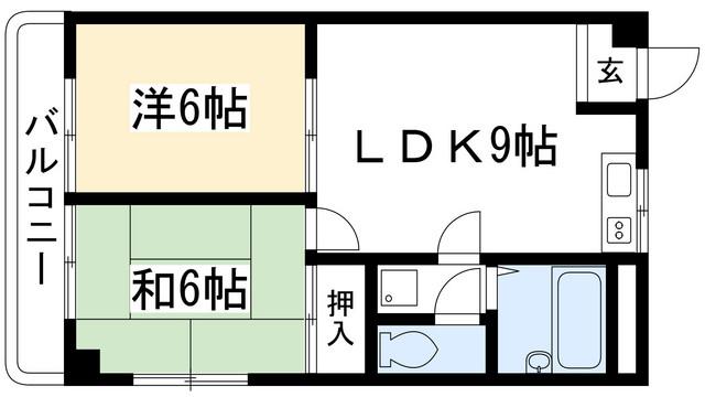 2LDK(+S) 78000円