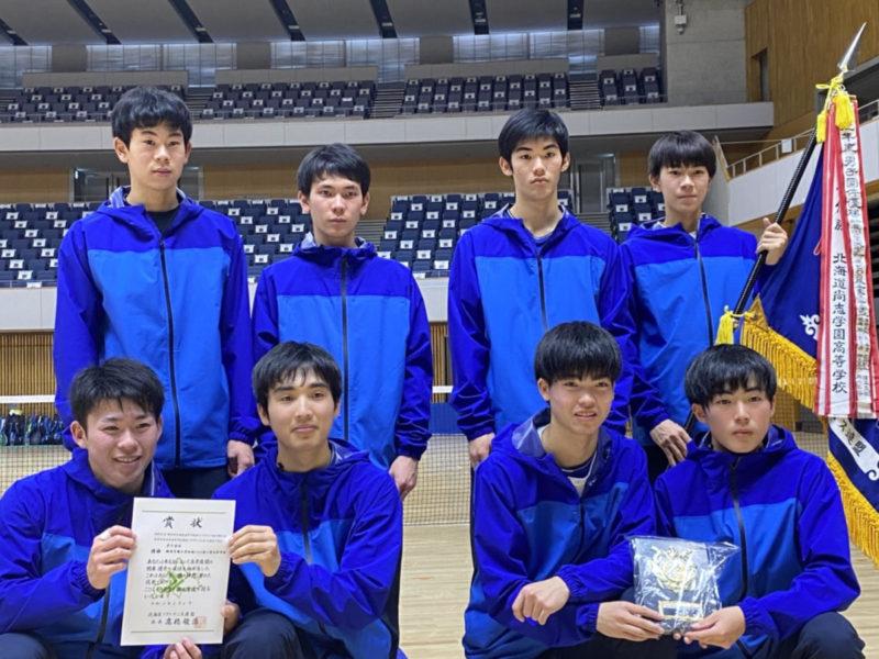 【大会結果】男子・女子ソフトテニス部全道大会結果