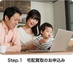 Step.1 宅配買取のお申込み