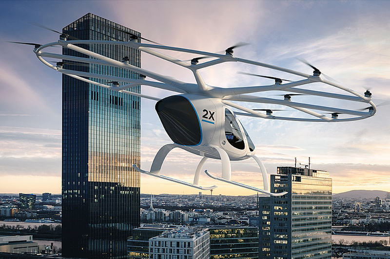 Nidec starts development of motors for manned drones – supplies
