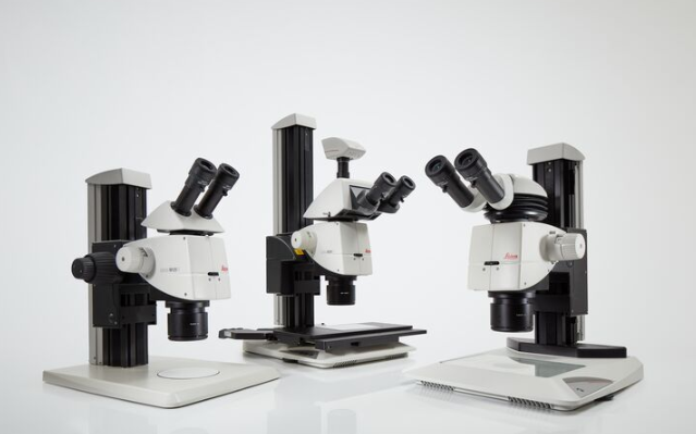 Leicaの実体顕微鏡