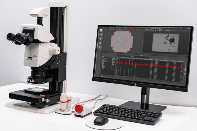 画像解析ソフトウェア+電動実体顕微鏡で、製品に混入した微小異物をワンストップで検出&採取