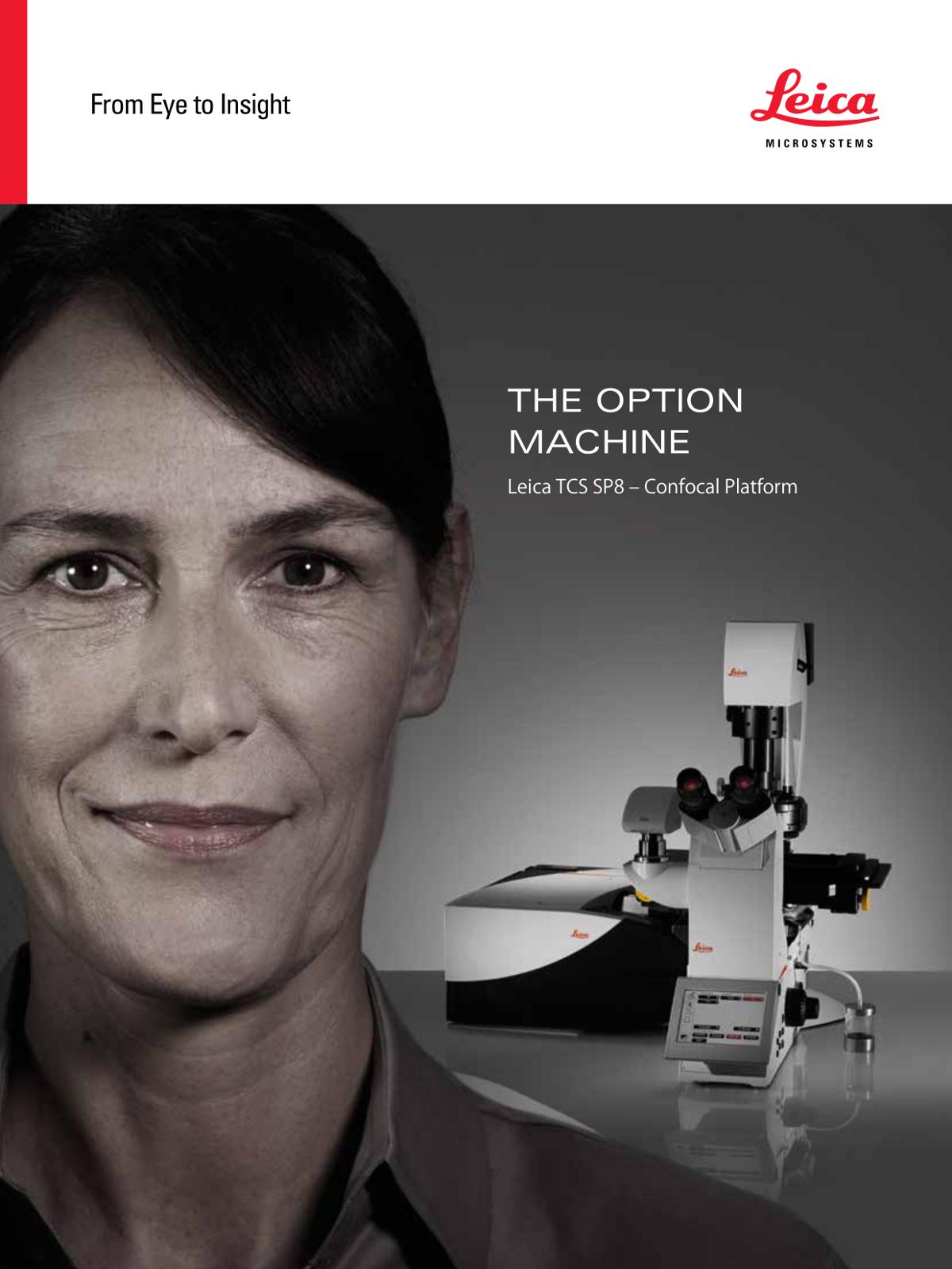 ダウンロード/共焦点レーザー顕微鏡 Leica TCS SP8(ライフサイエンス)カタログ