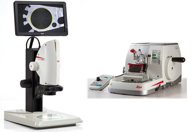 解析成功のカギを握る試料前処理は、見ながら切れるサイドビューシステム&ミクロトームで