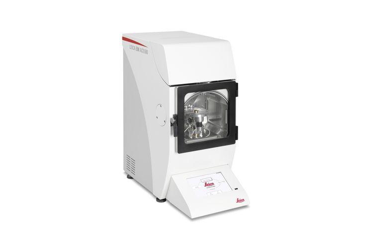 高真空スパッタ カーボンスレッド および電子ビームコーター Leica EM ACE600