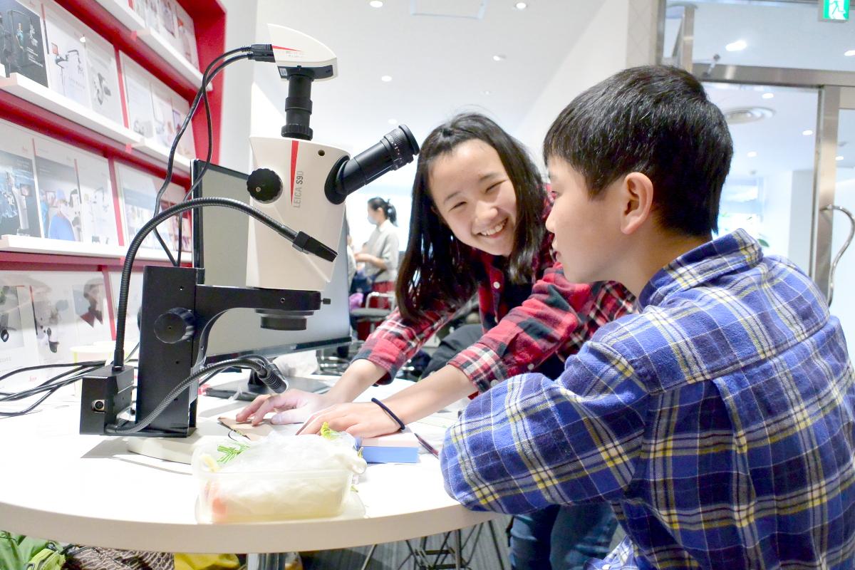 子供・親子イベント/大人気!親子で楽しむ顕微鏡ワークショップ