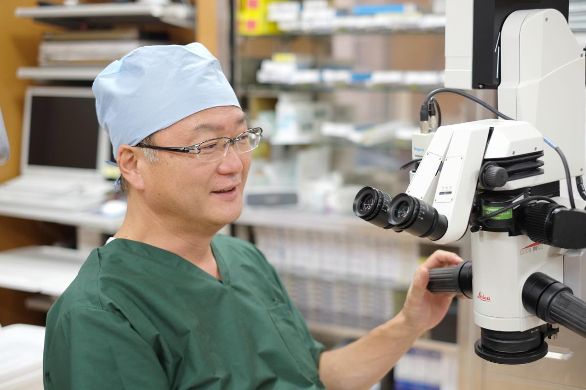 眼科用手術顕微鏡活用事例/白内障手術に占める割合が増えてきた乱視矯正のニーズ