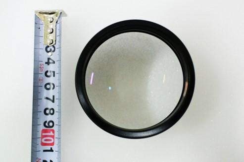 眼科手術顕微鏡 Proveo8 の大口径対物レンズ
