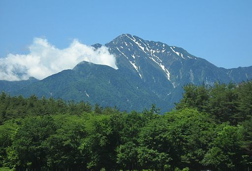 Mt.kaikomagatake from hokuto shi