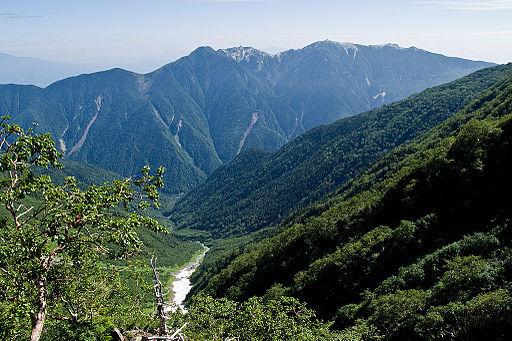 Mt.ho osan from okambazawa 04